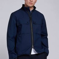 Barbour International Mens Belsfield Casual Jacket - Dress Blue - S