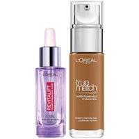 Dúo de sérum y base de maquillaje con ácido hialurónico True Match de L'Oréal Paris - 9N Truffle