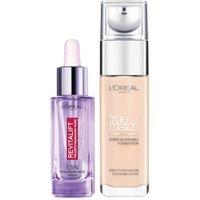 Dúo de sérum y base de maquillaje con ácido hialurónico True Match de L'Oréal Paris - 3N Creamy Beige