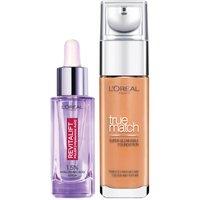 Dúo de sérum y base de maquillaje con ácido hialurónico True Match de L'Oréal Paris - 8N Cappuccino