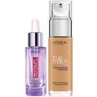 Dúo de sérum y base de maquillaje con ácido hialurónico True Match de L'Oréal Paris - 5.5W Golden Sun