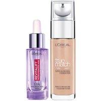 Dúo de sérum y base de maquillaje con ácido hialurónico True Match de L'Oréal Paris - 6N Honey