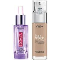 Dúo de sérum y base de maquillaje con ácido hialurónico True Match de L'Oréal Paris - 4N Beige