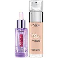 Dúo de sérum y base de maquillaje con ácido hialurónico True Match de L'Oréal Paris - 0.5C Porcelain Rose