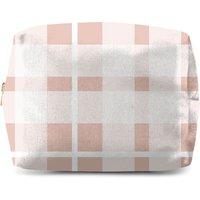 Plush Tartan Wash Bag
