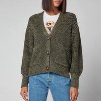 Polo Ralph Lauren Womens Oversized Cardigan - Olive - L