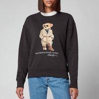 Polo Ralph Lauren Women's Safari Bear Sweatshirt - Black - S