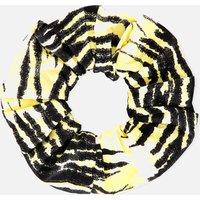 Ganni Women's Printed Scrunchie - Pale Banana