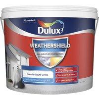Dulux Weathershield Textured Masonry Paint - Pure Brilliant