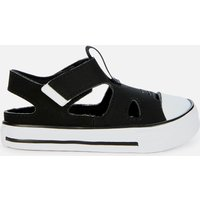 Converse Toddlers' Chuck Taylor All Star Superplay Sandal Ox Sandals - Black - UK 6 Toddler