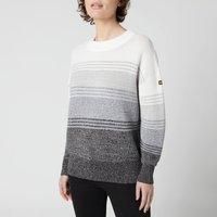 Barbour International Women's Hallstatt Knitted Jumper - Smoke Ombre - UK 14