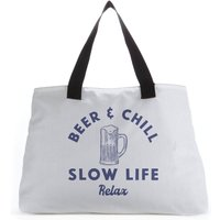 Beer And Chill Tote Bag