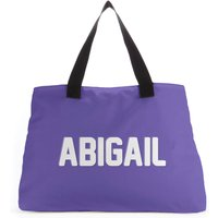 Embossed Abigail Tote Bag