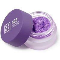 Sombra de ojos en crema de 3INA (varios tonos) - 482 Purple