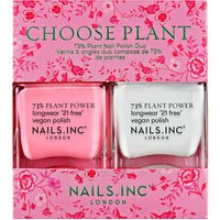 nails inc. Choose Plant Duo