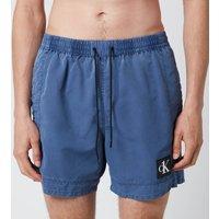 Calvin Klein Men's Meduim Drawstring Swim Shorts - Black Iris - S