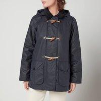 Barbour Womens Merlin Wax Jacket - Royal Navy - UK 10