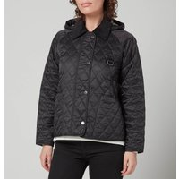 Barbour Women's Tobymory Quilted Jacket - Black/Ancient - UK 16