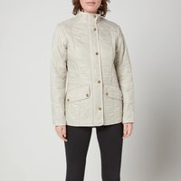 Barbour Women's Cavalry Polar Quilted Jacket - Pearl/Rustic - UK 14