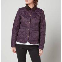 Barbour Womens Deveron Polar Quilted Jacket - Elderberry - U