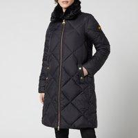 Barbour International Womens Assen Quilted Jacket - Black - UK 12