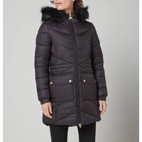 Barbour International Womens Tampere Quilted Jacket - Black