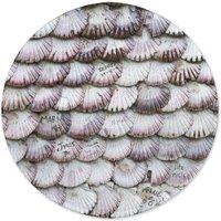 Seashells Round Bath Mat