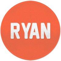 Embossed Ryan Round Bath Mat
