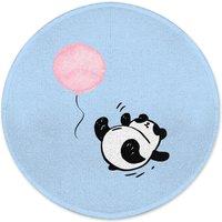 Panda Tumble Round Bath Mat