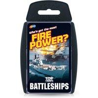Top Trumps Card Game - Battleships Edition