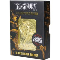 24K Gold plated Yu-Gi-Oh! Black Luster Soldier Card