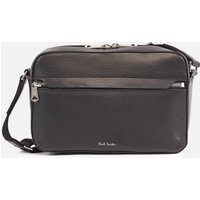 PS Paul Smith Mens Leather Camera Bag - Black