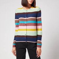 PS Paul Smith Womens Knitted Button Cardigan - Multi - L