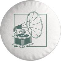 Music Player Round Cushion