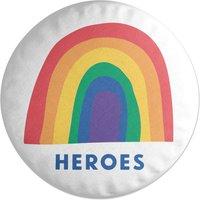 Heroes Round Cushion