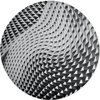 Dimple Texture Round Cushion