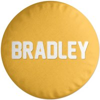 Embossed Bradley Round Cushion
