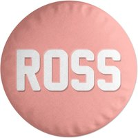 Embossed Ross Round Cushion