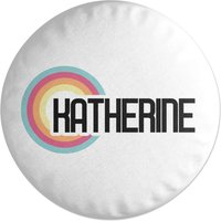 Katherine Rainbow Round Cushion