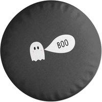 Ghost Boo Round Cushion
