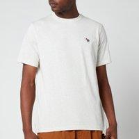 PS Paul Smith Men's Regular Fit Zebra Badge T-Shirt - Off White - L