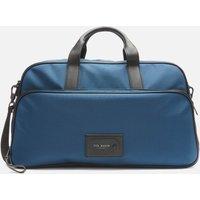 Ted Baker Mens Legally Travel Nylon Holdall Bag - Blue
