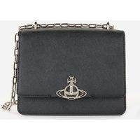 Vivienne Westwood Women's Debbie Medium Bag with Flap - Black