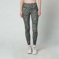 "Varley Women's Luna 25"" Leggings - Camo Textured Animal - XS"