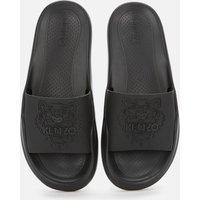 KENZO Women's Tiger Head Pool Slide Sandals - Black - UK 4