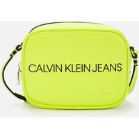 Calvin Klein Jeans Womens Sculpted Camera Bag Mono - Acid Lime