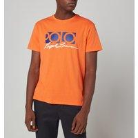 Polo Ralph Lauren Mens Polo Logo T-Shirt - Spectrum Orange - S