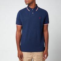 Polo Ralph Lauren Men's Mesh Tipped Polo Shirt - Newport Navy - XL