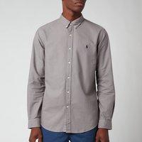 Polo Ralph Lauren Men's Slim Fit Garment Dyed Oxford Shirt - Perfect Grey - XXL