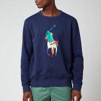 Polo Ralph Lauren Men's Graphic Fleece Sweatshirt - Newport Navy - L